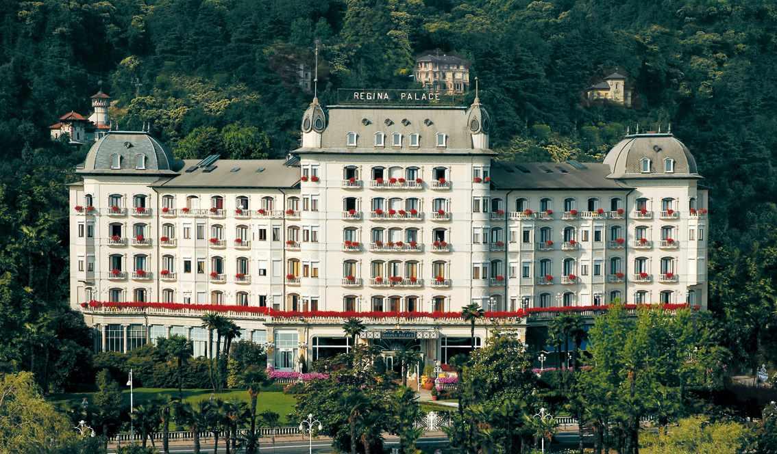 facade Regina Palace Hotel